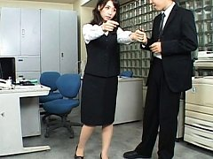 Meguru Kosaka Pretty babe acts like a real doll an...