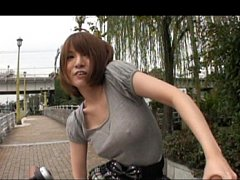 Yuki Mizuho hot Asian girl in a miniskirt and knee...