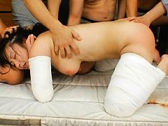 Ryo Tsujimoto can't move and is forcefully stimula...