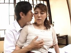 Tomori Tokine Asian has huge jugs squeezed and cun...