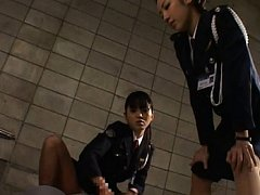 Japanese AV Model Prison guards masturbate a priso...