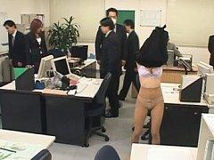 Japanese AV Model takes her clothes off in full of...