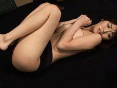 Miho Imamura Asian has brown nipples and lots of s...