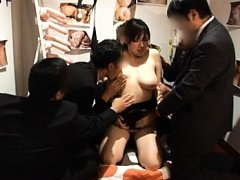 Azusa Nagasawa has huge bosom roughly treated by t...