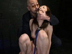 Kotone Amamiya is all naked and treated like a bit...