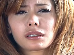 Moe Aizawa Asian model gets a DP with anal beads a...