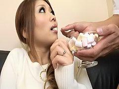 Hibiki Ohtsuki Asian call girl is kinky and gets g...