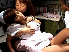 Night Nurses naughty Asian tramps excited and read...