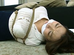 Mio Takahashi has huge boobs in ropes and nipples...