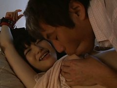 Chizuru Sakura Asian has twat licked and nipples r...