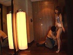 Aozora Yamakawa Asian with sexy legs has love box...