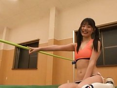 Tsubomi Asian doll is very naughty and sexy in tin...