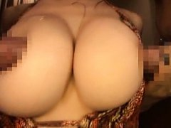 Amateur Asian gets hungry hands and cum on her big...