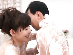 Eriko Miura Asian has leering body fondled with so...