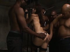 Maki Hokujo Asian is touched all over body by dude...
