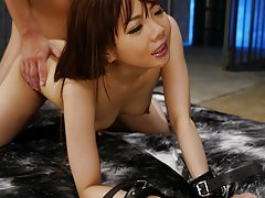 JAV Idol Mio Yoshida gets a creampie pussy after d...
