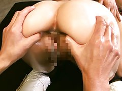 Emi Harukaze gets ravished by two guys in amazing...