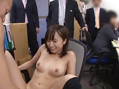 Ayumi Kimino in long socks rides boner in front of...
