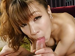Natsuki Shino with hot assets is so erotic while s...