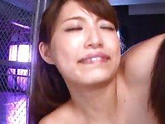 Harumi Tachibana gets dildo in vagina and vibrator...