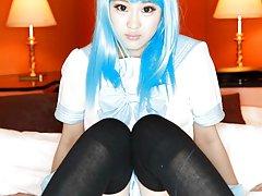 JAV Idol Maki Horiguchi in various cosplay and ero...