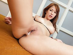 Nami Itoshino has cans sucked and slit fucked whil...