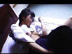 Nana Nanaumi Asian with nude jugs has vagina pumpe...