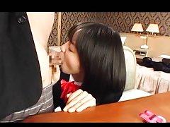 Nana Nanaumi Asian has boobs touched over blouse a...