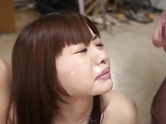 Mei Hayama Asian and naked nymphets suffer togethe...