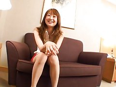 Monna Suzue Asian puts high heel in man belly and...