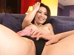 Akari Asahina Asian with nasty boobs gets doggy in...