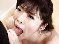 Two hot Japanese girls Chie Kobayashi and Akari Mi...