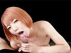 Japanese amateur slut Nanami Sugisaki gives a raw...