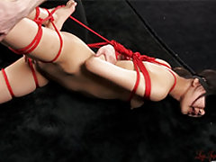 Japanese legs fetish model Mizuho Shiina in costum...