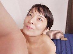 JAV Idol Yukari Ayaka gets dick in her pussy and g...