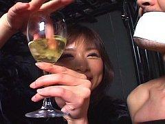 Cum in wine!