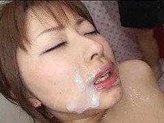 Asian bukkake, Bukkake orgy