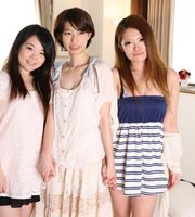 Koko Hirose, Tsugu Nanase, Aiko Suzuhara