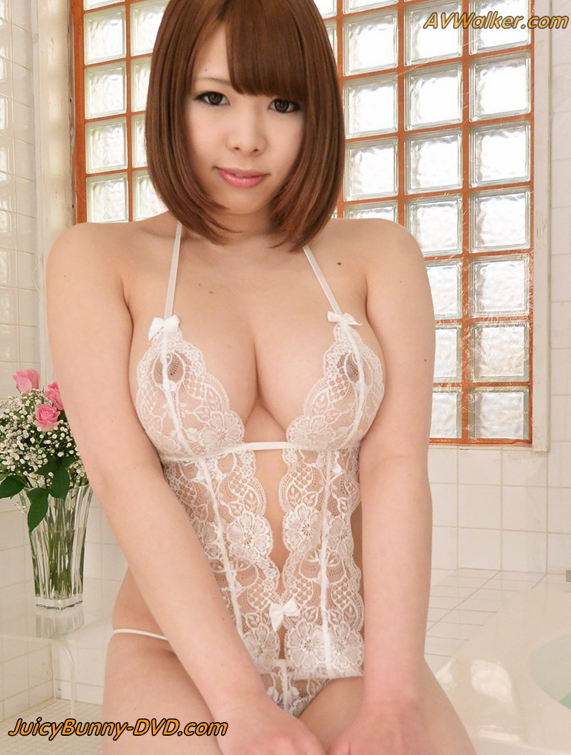 LaForet Girl Meru shows off her super big natural boobs - Kabukicho-Girls.com
